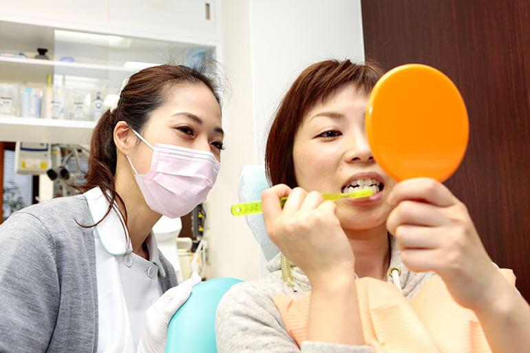 歯を強くし、疾患から守って、生涯美味しく健康に。