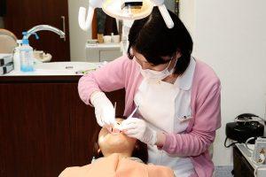 プロの手による歯のクリーニング(PMTC)